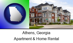 Athens, Georgia - luxury apartments