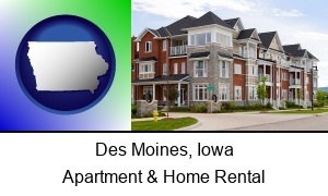 Des Moines, Iowa - luxury apartments