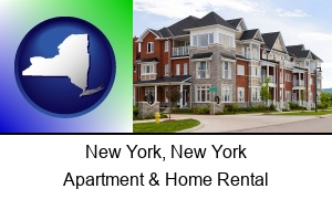 New York, New York - luxury apartments