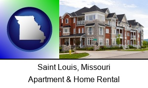 Saint Louis Missouri luxury apartments