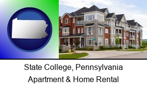 State College Pennsylvania luxury apartments