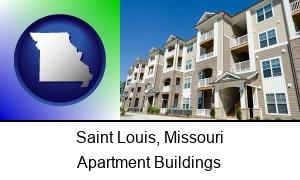 Saint Louis Missouri an apartment building