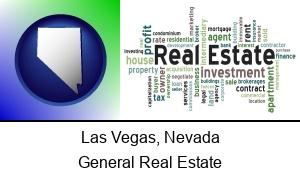 Las Vegas, Nevada - real estate concept words