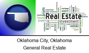 Oklahoma City Oklahoma real estate concept words