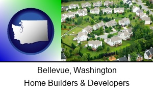 Bellevue, Washington - a housing development