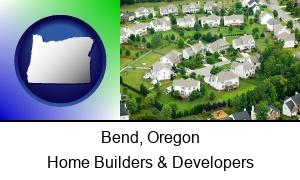 Bend, Oregon - a housing development