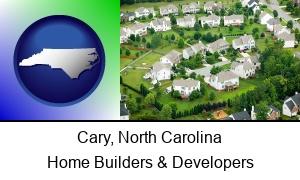 Cary North Carolina a housing development