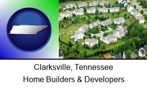Clarksville Tennessee a housing development