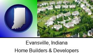 Evansville, Indiana - a housing development