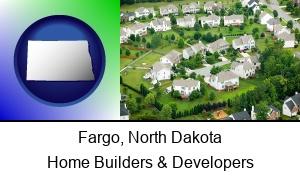 Fargo North Dakota a housing development
