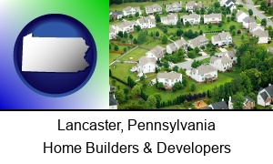 Lancaster Pennsylvania a housing development