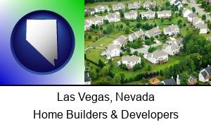 Las Vegas Nevada a housing development