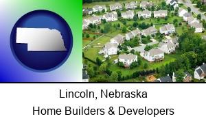 Lincoln Nebraska a housing development