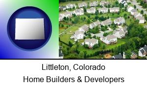 Littleton, Colorado - a housing development