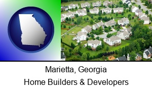 Marietta Georgia a housing development