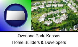 Overland Park, Kansas - a housing development