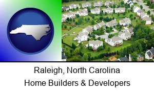 Raleigh North Carolina a housing development