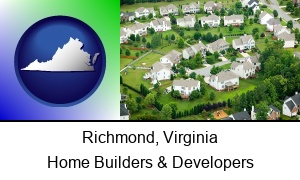 Richmond Virginia a housing development