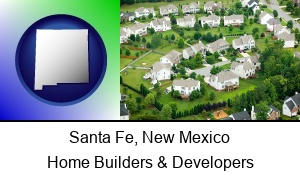 Santa Fe New Mexico a housing development