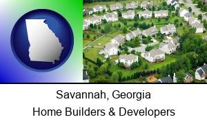 Savannah, Georgia - a housing development