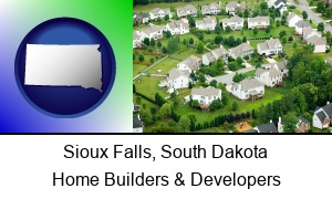 Sioux Falls South Dakota a housing development