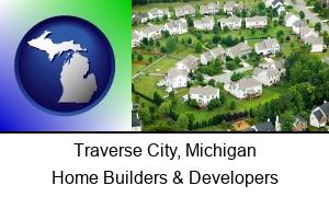 Traverse City, Michigan - a housing development