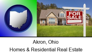 Akron, Ohio - a house for sale