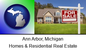 Ann Arbor, Michigan - a house for sale