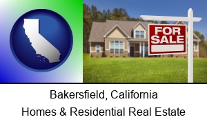 Bakersfield, California - a house for sale
