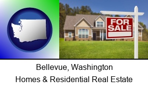 Bellevue, Washington - a house for sale