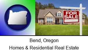 Bend, Oregon - a house for sale