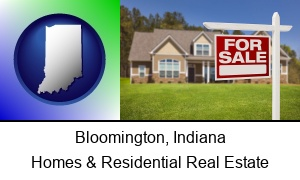 Bloomington, Indiana - a house for sale