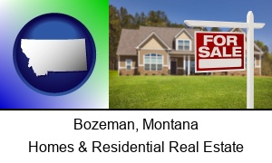 Bozeman, Montana - a house for sale
