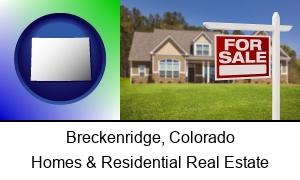 Breckenridge Colorado a house for sale