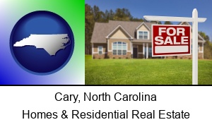 Cary, North Carolina - a house for sale