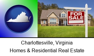 Charlottesville, Virginia - a house for sale