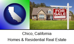 Chico California a house for sale