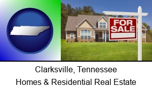 Clarksville, Tennessee - a house for sale