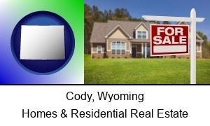 Cody Wyoming a house for sale