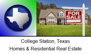 College Station, Texas - a house for sale
