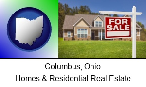 Columbus, Ohio - a house for sale