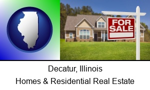 Decatur, Illinois - a house for sale