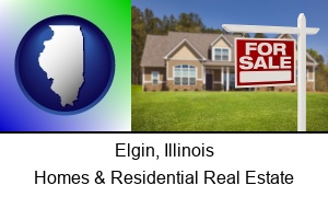 Elgin Illinois a house for sale
