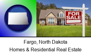 Fargo, North Dakota - a house for sale