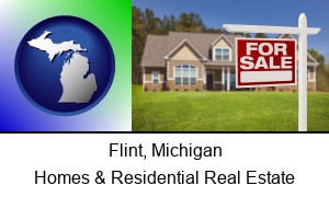 Flint, Michigan - a house for sale