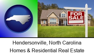 Hendersonville, North Carolina - a house for sale