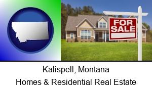 Kalispell Montana a house for sale