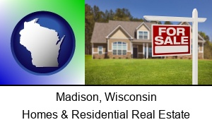 Madison Wisconsin a house for sale