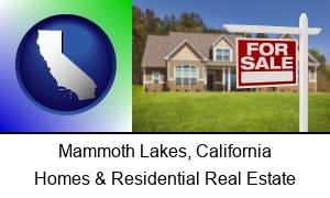 Mammoth Lakes California a house for sale