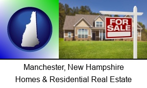 Manchester, New Hampshire - a house for sale